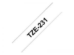 Brother TZe231Cartouches d'origine 1 unité de la marque Brother image 1 produit