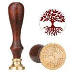 [Cachet de Cire] Luxebell Set de Cire D'étanchéité/Cire à Cacheter avec 2 Bâtons de Cire Rouge avec Mèche de la marque Luxebell image 1 produit