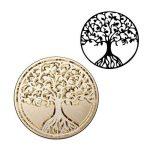 Cachet de cire, Mogoko vintage rétro classique cachet de cire en cuivre avec encreur Fancy Pattern (plusieurs motifs disponibles) Tree Of Life de la marque Mogoko image 3 produit
