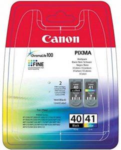 Canon - PG-40 & CL-41 - Cartouche d'Encre - Multicolore de la marque Canon image 0 produit