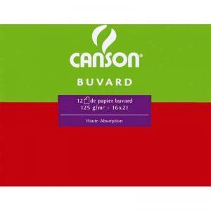 Canson 200091123 Feuille de papier buvard Format 50 x 65 cm 250 g Blanc Lot de 25 de la marque Canson image 0 produit