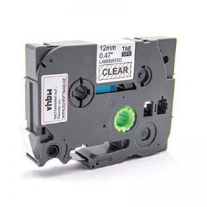 Cassette Ruban Cartouche 12mm vhbw Transparent pour Brother P-Touch 1180HK, 1190, 1200, 1200S, 1230PC, 1250, 1250CC comme TZ-131, TZE-131. de la marque vhbw image 0 produit