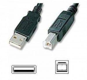 Câble USB 2.0 de 5m A-B pour imprimante / scanner QUALITE SUPERIEURE Blindé. Pour HP Lexmark Epson Canon IBM Brother .....Longueur 5M. de la marque ***Generique*** image 0 produit