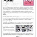 Choisissez votre Stamp Icône ronde en caoutchouc personnalisé auto-encrage COLOP Mini Stamper 12 mm-Violet Ink de la marque Printtoo image 2 produit