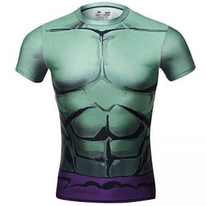 Cody Lundin Theme Superhero Movie Homme Manches Longues Tees Compression Shirt Fitness T-Shirt-Hulk de la marque Cody Lundin image 0 produit