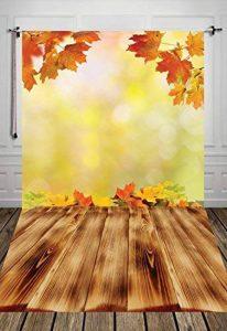 Coloc Photo 150*220cm toile de fond la photographie fond automne paysage toile de fond jaune automne bébé fondD-2782 de la marque COLOC image 0 produit