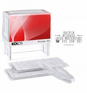 Colop 100940Printer 50/2Set 7lignes à faire soi-même de la marque Colop image 0 produit