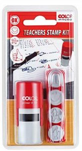 Colop école kit–4designs, 127936Ensemble de tampons en caoutchouc–même–sans plaque de la marque Colop image 0 produit
