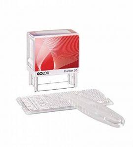 COLOP Printer 20/1 Tampon encreur personnalisable avec cassette d'encrage intégrée Noir 38 mm x 14 mm (Import Royaume Uni) de la marque Colop image 0 produit