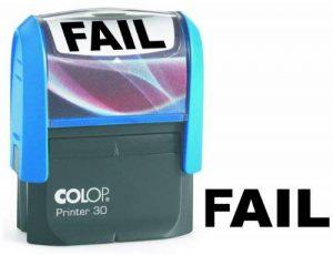 Colop Printer 30Tampon encreur Fail Noir de la marque Colop image 0 produit