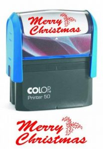 COLOP Printer 50 Tampon encreur Merry Christmas Rouge de la marque Colop image 0 produit