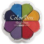 ColorBox Chalk liquide Petal Point Option tampon encreur 8 couleurs primaires Pastels de la marque Clearsnap image 1 produit