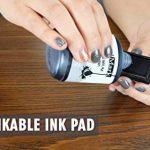 Confidentielles auto-encreur Tampon en caoutchouc–ENCRE Rouge (42a1539web-r) par Excelmark de la marque ExcelMark image 3 produit