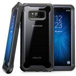 Coque pour Samsung Galaxy S8 Plus, coque transparente SUPCASE Ares Bumper munie d'un protège-écran intégré pour Samsung Galaxy S8 Plus (2017) - Noir de la marque SUPCASE image 2 produit