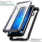 Coque pour Samsung Galaxy S8 Plus, coque transparente SUPCASE Ares Bumper munie d'un protège-écran intégré pour Samsung Galaxy S8 Plus (2017) - Noir de la marque SUPCASE image 1 produit