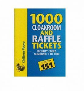 Country club 1 000 tickets de vestiaire et tombola de la marque Chiltern Wove image 0 produit