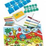 Crayola - Loisir Créatif - Jeux de timbres de la marque Crayola image 1 produit