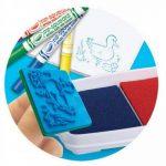 Crayola - Loisir Créatif - Jeux de timbres de la marque Crayola image 2 produit