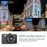 """Crosstour Dashcam 1080P 12MP Caméra Embarquée Voiture Full HD 3"""" LCD 170° Grand-Angle avec WDR, G-Sensor, Enregistrement en Boucle et Détection de Mouvement de la marque Crosstour image 1 produit"""
