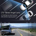 """Crosstour Dashcam 1080P 12MP Caméra Embarquée Voiture Full HD 3"""" LCD 170° Grand-Angle avec WDR, G-Sensor, Enregistrement en Boucle et Détection de Mouvement de la marque Crosstour image 2 produit"""