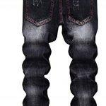 CYVVV Homme Denim Coton Nouveau Broderie Droit Coupe Slim Commerce extérieur Patch Pantalons Jeans Personnalité Lettre Pantalons Trou Jeans de la marque CYVVV image 1 produit