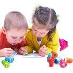 Diealles Tampons à Encre Auto-encrage, 26pcs Animaux Timbres Auto-encreurs pour Enfants de la marque Diealles image 1 produit