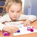 Diealles Tampons à Encre Auto-encrage, 26pcs Animaux Timbres Auto-encreurs pour Enfants de la marque Diealles image 2 produit