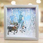 Disney La Reine des neiges Elsa Die de Visage et Tampon, Argent de la marque Disney image 2 produit