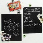 DUOFIRE Auto-adhésif Autocollant Tableau Noir Amovible Imperméable Mémo Sticker Mural (A4 x 8 feuilles), Cadeau gratuit de la marque DuoFire image 1 produit