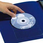 Durable 807619 Pocketfix Pochette Adhésive Transparente pour Insertion 148 x 105 mm Ouverture Petit Côté - Format Pochette 152 x 109 mm Sachet de 10 de la marque Durable image 1 produit