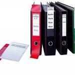 Durable 809006 Ordofixetiquette Adhésive pour Dos de Classeur 70 mm - Format 60 x 390 mm Coloris Bleu Sachet de 10 de la marque Durable image 3 produit