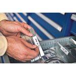 Dymo 1805442 Étiquettes Industrielles Autocollantes en Polyester Rhino, 6mmX5,5M, Impression en Noir sur Fond Blanc de la marque DYMO image 2 produit