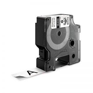 Dymo 18489 Étiquettes Industrielles en Nylon Flexible Rhino Pro, Rouleau de 19mm x 3,5m, Autocollantes, Impression en Noir sur Fond Blanc de la marque DYMO image 1 produit