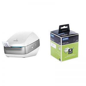 Dymo LabelWriter Wireless Imprimante d'Étiquettes sans Fil, Blanche + Étiquettes d'Adresse Autocollantes Grand Format, 36 mm x 89 mm, Rouleau de 260, Lot de 2 de la marque DYMO image 0 produit