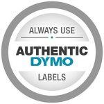 Dymo Rhino Etiquettes Industrielles Polyester Permanent 12mm x 5,5m - Noir sur Métallique de la marque DYMO image 2 produit