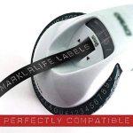 Dymo Ruban de Marquage 3D 9 mm x 3 m, Markurlife Compatible Etiquettes de Gaufrage 3D en Plastique, Noir et Rouge, pour Les Outils de Marquage Dymo Omega et Junior, Lot de 4 de la marque Markurlife image 1 produit