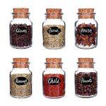 Eachgoo Etiquettes de Cuisine,64 réutilisables Autocollants Étiquette Tableau Noir pour Bouteilles, Verres,étiquettes de cadeau avec Marqueurs Craie Liquide de la marque Eachgoo image 4 produit