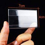 Earlywish petit signe 50pcs Porte-cartes Prix d'affichage Étiquette de numéro Stand Case 7 cm x 4 cm de la marque Earlywish image 3 produit