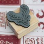 East of India Stag Wooden Rubber Stamp - Xmas / Craft / Scrapbooking de la marque Little Something Gifts image 2 produit