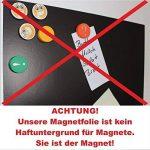 Easydruck24de mag_002 Lot de 3, feuilles magnetic autocollantes Permaflex 518, Semi-anisotrope DIN A4 de la marque easydruck24de image 3 produit