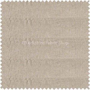 Effet Lin toucher doux chenille Naturel de couleur crème Tissu d'ameublement Code 765 de la marque Yorkshire Fabric Shop image 0 produit
