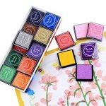 Encre Tampons Empreinte Multicolores pour Enfants DIY, 20pcs de la marque ULTNICE image 1 produit