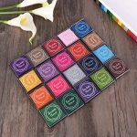 Encre Tampons Empreinte Multicolores pour Enfants DIY, 20pcs de la marque ULTNICE image 3 produit