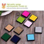 Encre Tampons Empreinte Multicolores pour Enfants DIY, 20pcs de la marque ULTNICE image 4 produit