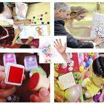 Enfant Coussins Encreurs, 24 Couleurs Encreurs Tampon , Facile à Laver Tampon Encreur Pour Enfants, Non-Toxique Tampons D'encre à Doigts Créatifs Enfants Artisanat Pour Peinture au Doigt Scrapbooking de la marque Funxim image 1 produit