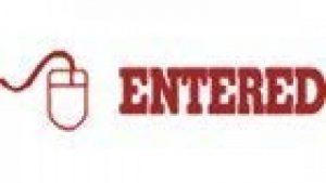 entré avec Mouse Tampon Auto-encreur Red Ink de la marque Office Stock Stamps image 0 produit