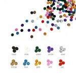 Esnow 180 pièces Perles de cire réticentes réticulaires avec 1 pièce de cire en fusion et 2 pièces Bougies 10 couleurs de la marque Esnow image 1 produit