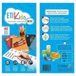 ETIKids 40 Étiquettes adhésives laminées personnalisables polyvalentes (basic) pour la garderie et l'école. de la marque Haberdashery Online image 3 produit