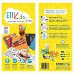 ETIKIDS 40 Étiquettes adhésives laminées personnalisables polyvalentes pour la garderie et l'école. (color) de la marque Haberdashery Online image 3 produit