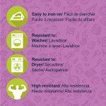 ETIKids 40 Étiquettes de vêtements personnalisables pour la garderie et l'école. (basic) de la marque Haberdashery Online image 1 produit
